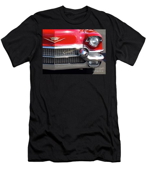 Bullet Bumpers - 1956 Cadillac Men's T-Shirt (Athletic Fit)