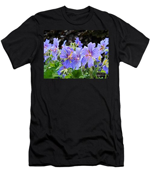 Men's T-Shirt (Slim Fit) featuring the photograph Bunches by Clare Bevan