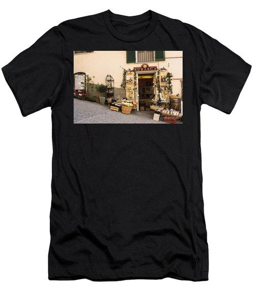 Burasca Shop Of Manarola Men's T-Shirt (Athletic Fit)