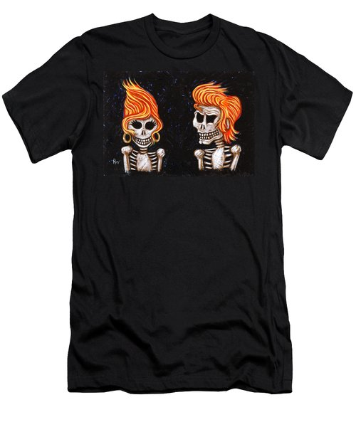 Burnin' Love 4 Ever Men's T-Shirt (Slim Fit) by Holly Wood