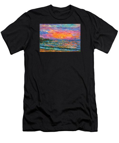 Burning Shore Men's T-Shirt (Athletic Fit)