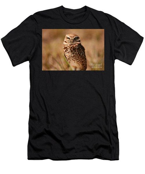 Burrowing Owl Impressions Men's T-Shirt (Athletic Fit)