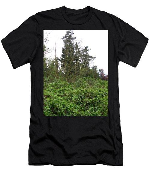 Bus Stop Greenbelt Men's T-Shirt (Athletic Fit)