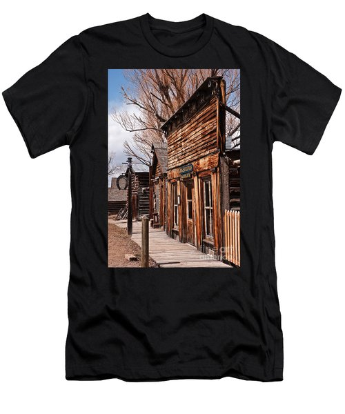 Men's T-Shirt (Athletic Fit) featuring the photograph Business Block by Sue Smith