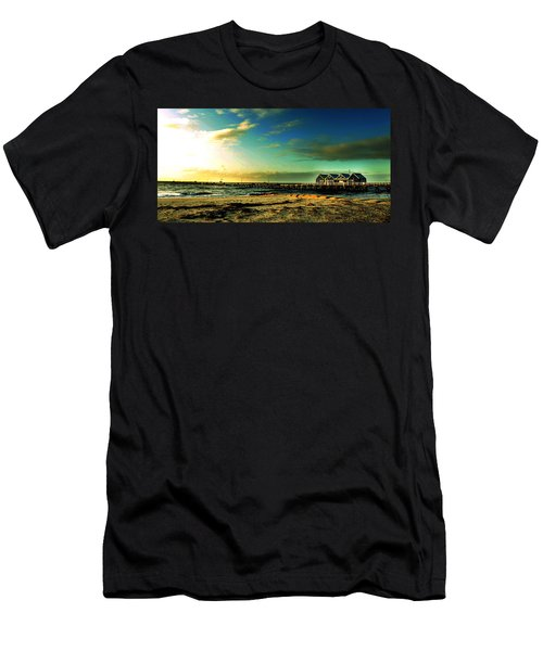 Men's T-Shirt (Slim Fit) featuring the photograph Busselton Jetty by Yew Kwang