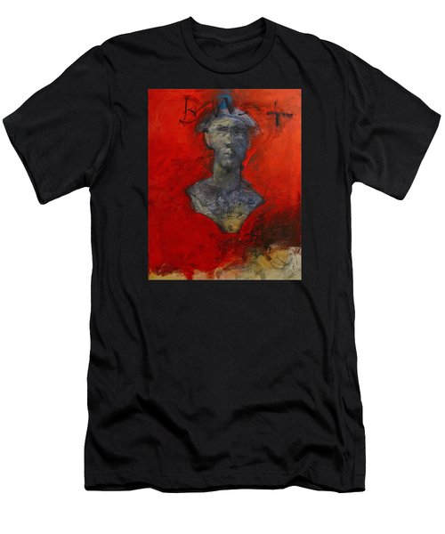 Bust Ted - With Sawdust And Tinsel  Men's T-Shirt (Athletic Fit)