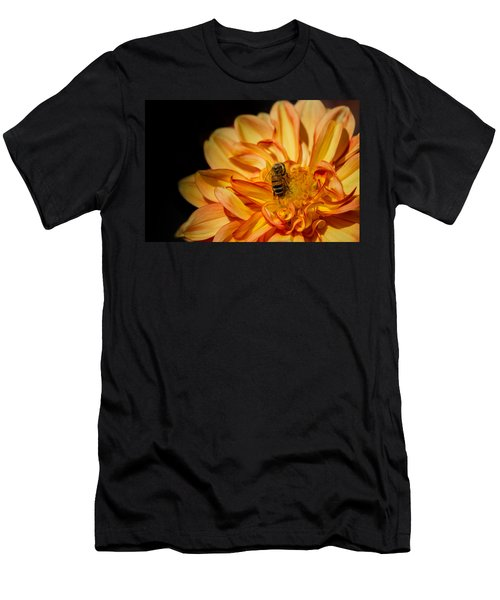 Busy Bee Dahlia Men's T-Shirt (Athletic Fit)