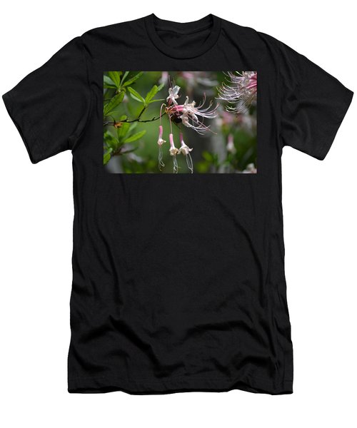 Men's T-Shirt (Slim Fit) featuring the photograph Busy Bee by Tara Potts