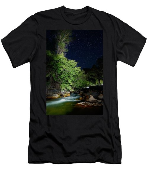 Men's T-Shirt (Slim Fit) featuring the photograph Busy Night by David Andersen