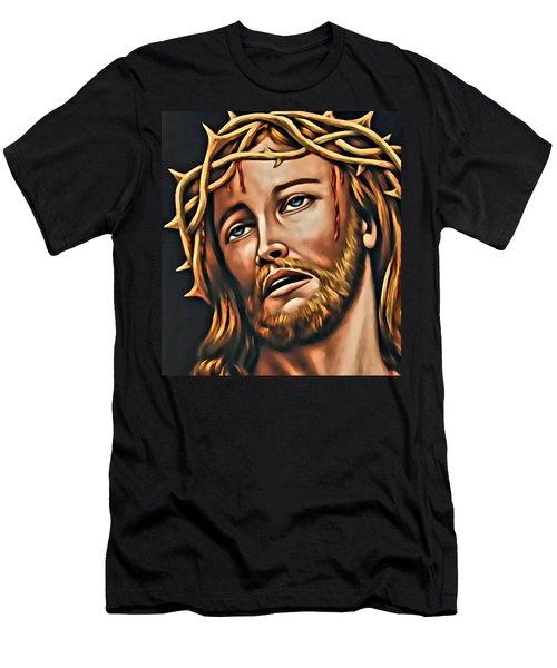 But For Grace Men's T-Shirt (Athletic Fit)
