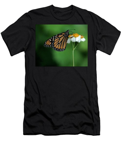 Men's T-Shirt (Slim Fit) featuring the photograph Butterfly 3 by Leticia Latocki