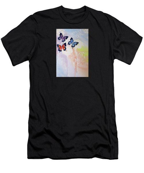 Butterfly Dream Men's T-Shirt (Athletic Fit)