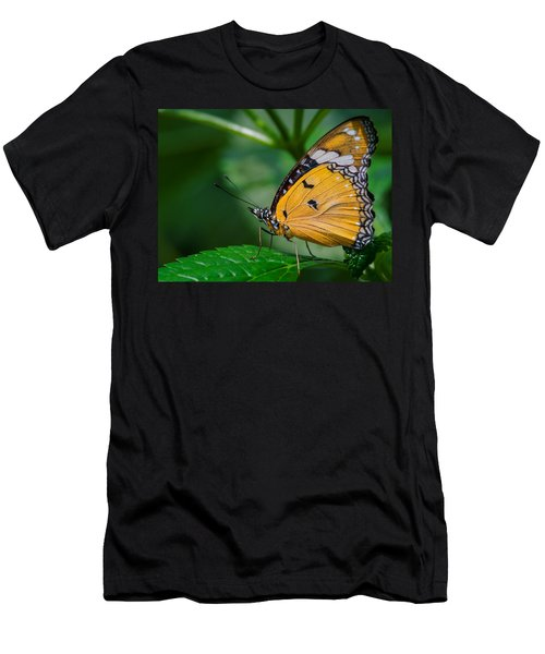 Men's T-Shirt (Athletic Fit) featuring the photograph Butterfly  by Garvin Hunter