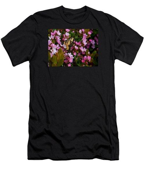 Butterfly Men's T-Shirt (Slim Fit) by Mark Alder