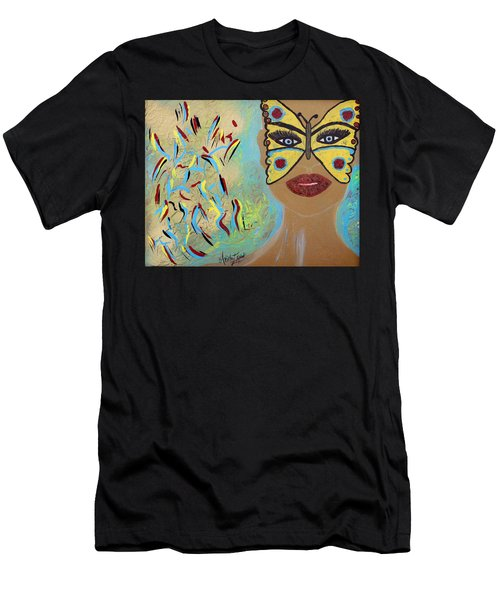 Butterfly Moment Men's T-Shirt (Athletic Fit)