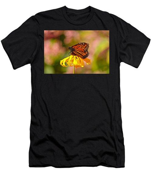 Butterfly Monet Men's T-Shirt (Athletic Fit)
