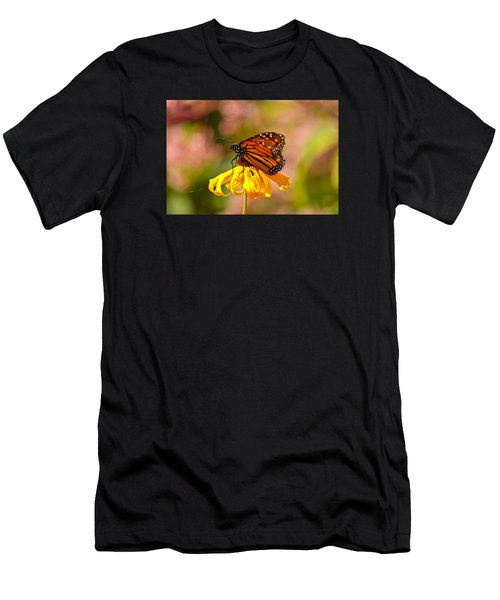 Butterfly Monet Men's T-Shirt (Athletic Fit)