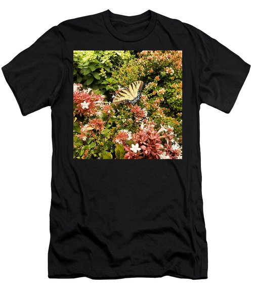 Butterfly...... Open Your Wings And Fly Men's T-Shirt (Athletic Fit)