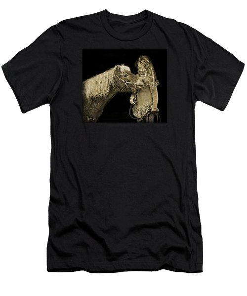 Butterscotch Men's T-Shirt (Slim Fit) by Joan Davis