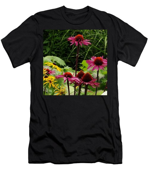 Men's T-Shirt (Slim Fit) featuring the photograph Button Up by Natalie Ortiz