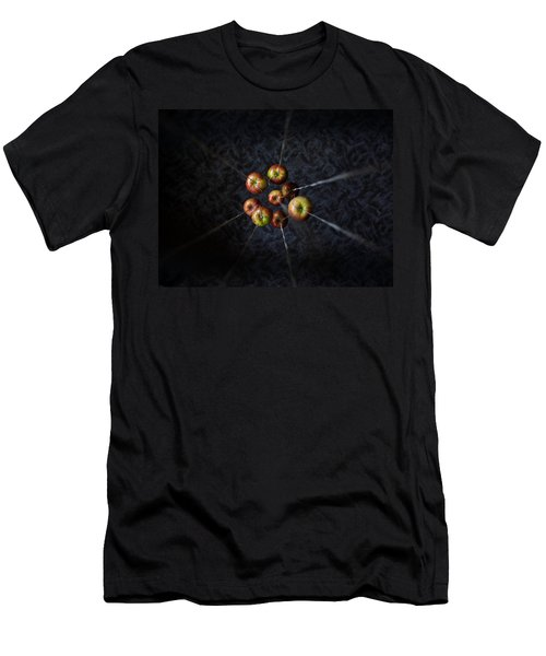 By A Thread Men's T-Shirt (Slim Fit) by Aaron Aldrich