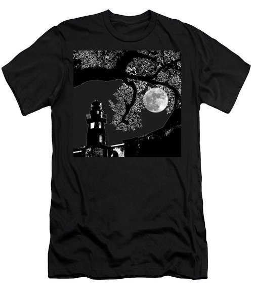 Men's T-Shirt (Slim Fit) featuring the photograph By The Light by Robert McCubbin