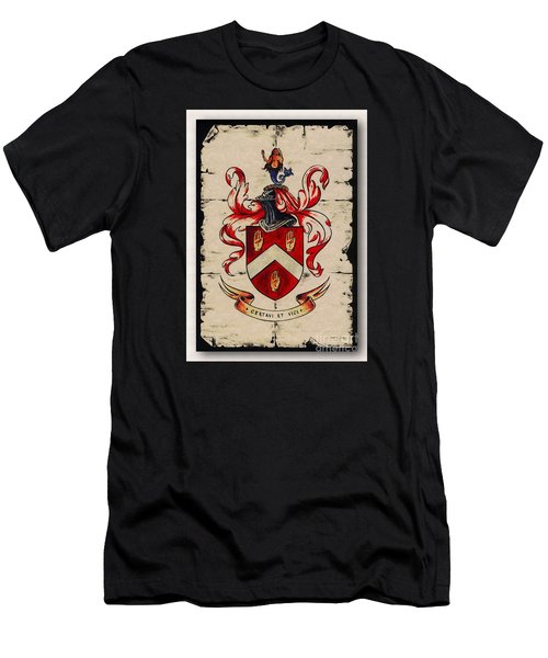 Byrne Coat Of Arms Men's T-Shirt (Athletic Fit)