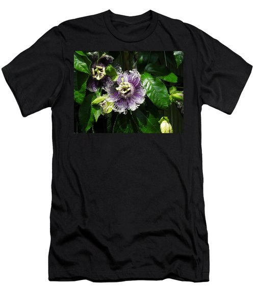 Men's T-Shirt (Slim Fit) featuring the photograph Byron Beauty by Ron Davidson