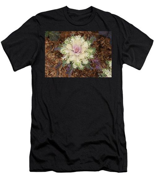 Cabbage Rose Men's T-Shirt (Athletic Fit)