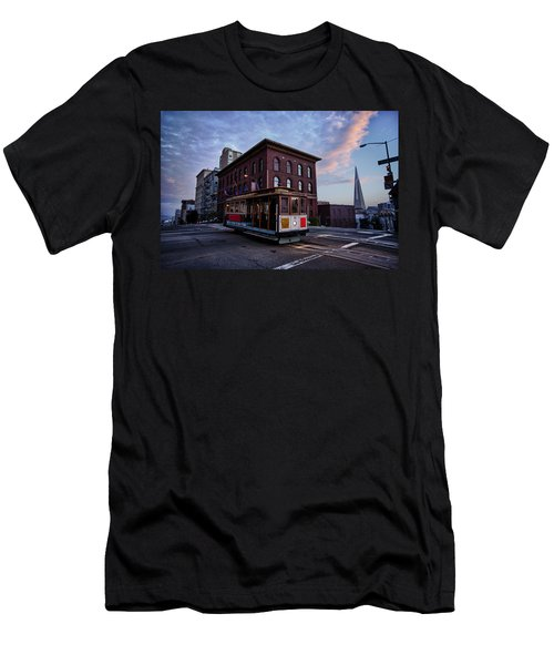 Cable Car Men's T-Shirt (Slim Fit)
