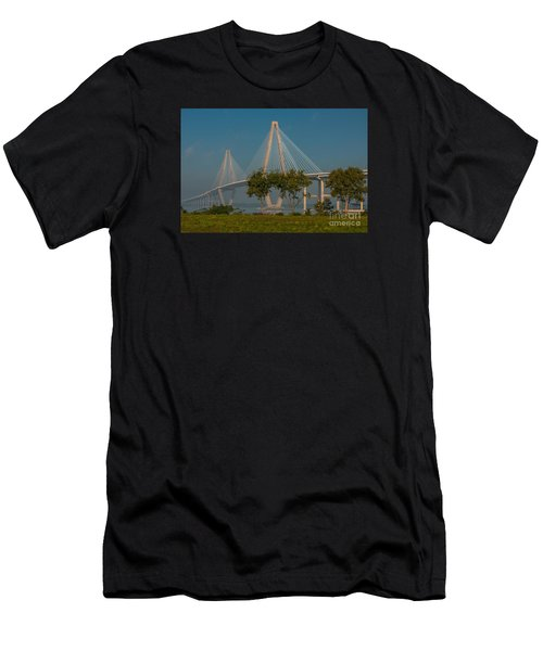 Cable Stayed Bridge Men's T-Shirt (Athletic Fit)