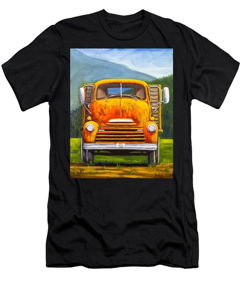 Cabover Truck Men's T-Shirt (Athletic Fit)