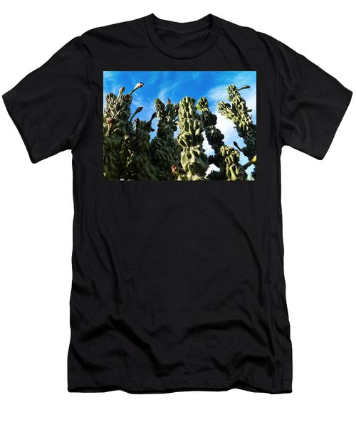 Men's T-Shirt (Slim Fit) featuring the photograph Cactus 1 by Mariusz Kula