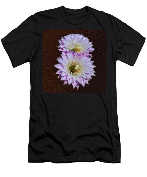 Cactus Flowers Men's T-Shirt (Athletic Fit)