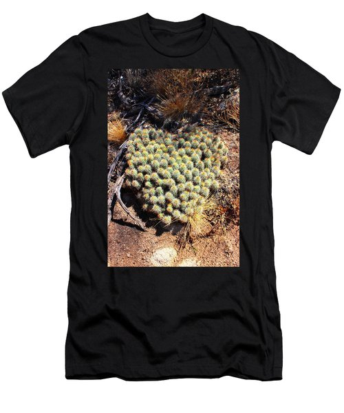 Men's T-Shirt (Slim Fit) featuring the photograph Cacti Need Love Too by Natalie Ortiz