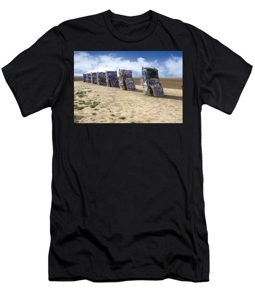 Cadillac Ranch Men's T-Shirt (Athletic Fit)