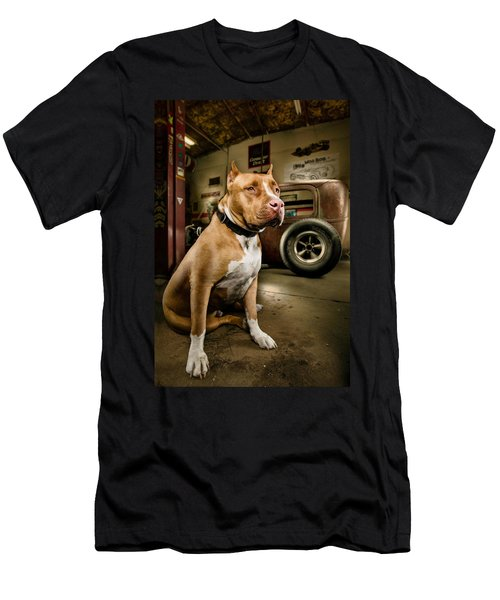 Caesar At Millers Chop Shop Men's T-Shirt (Athletic Fit)