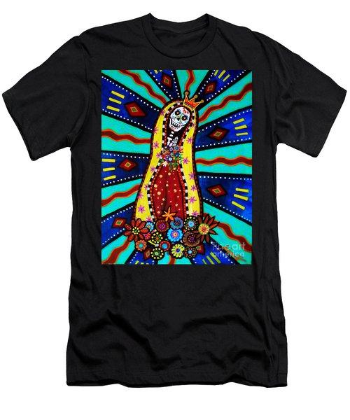 Calavera Virgen Men's T-Shirt (Athletic Fit)