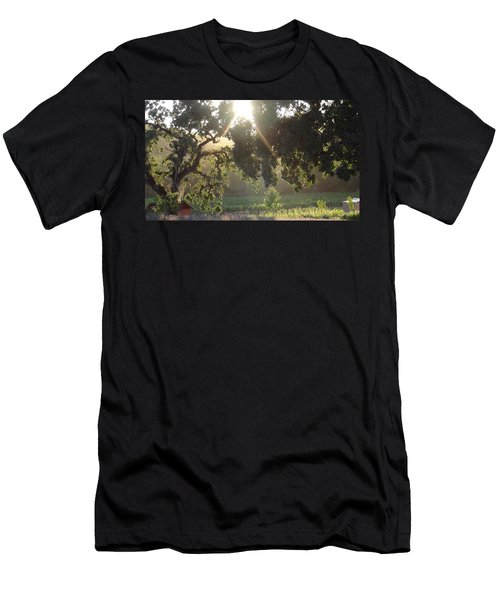 Men's T-Shirt (Slim Fit) featuring the photograph Cali Lite by Shawn Marlow