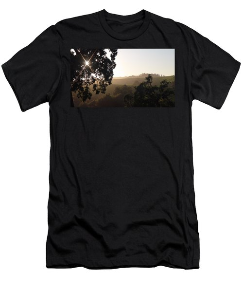 Men's T-Shirt (Slim Fit) featuring the photograph Cali Sun Set by Shawn Marlow