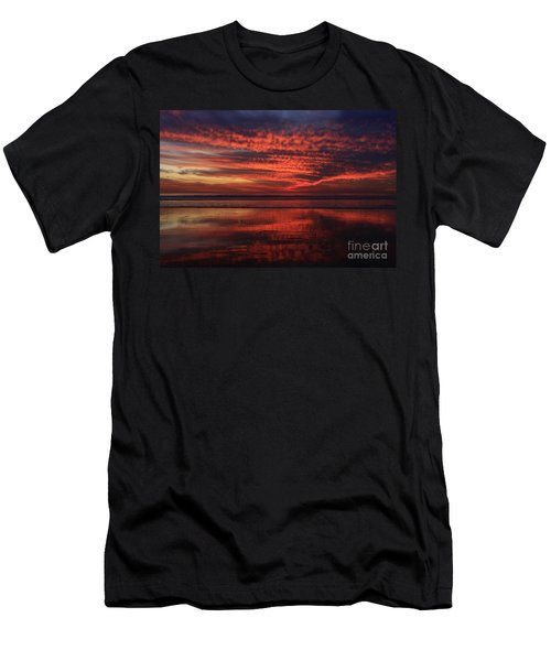 Cardiff Afterglow  Men's T-Shirt (Athletic Fit)