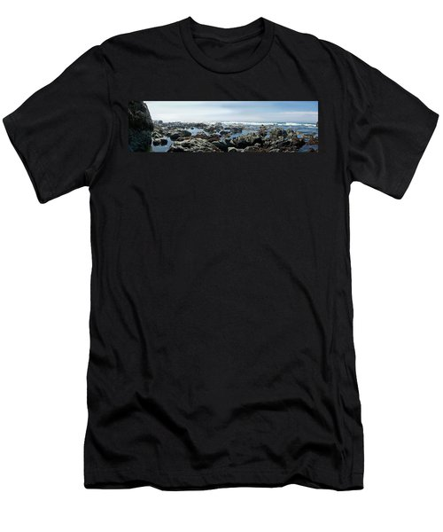 California Beach 1 Men's T-Shirt (Athletic Fit)