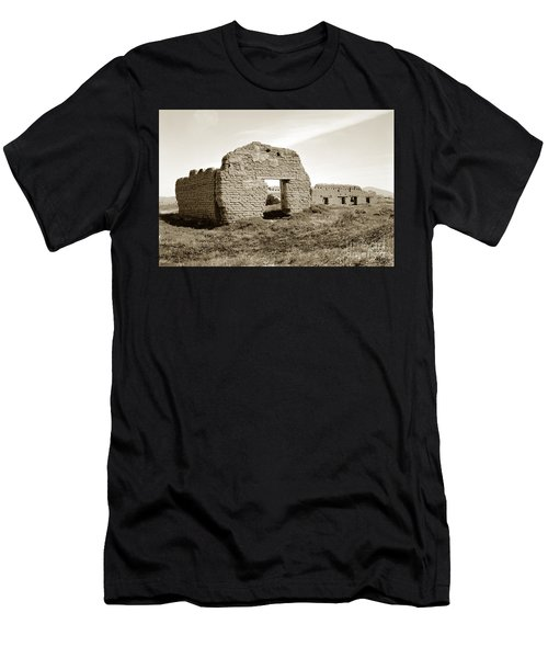 Soledad  California Mission  Monterey Co. Circa 1900 Men's T-Shirt (Athletic Fit)