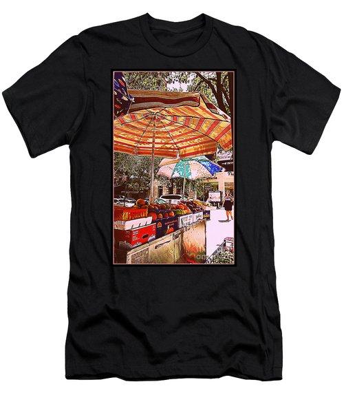 Men's T-Shirt (Slim Fit) featuring the photograph California Oranges by Miriam Danar