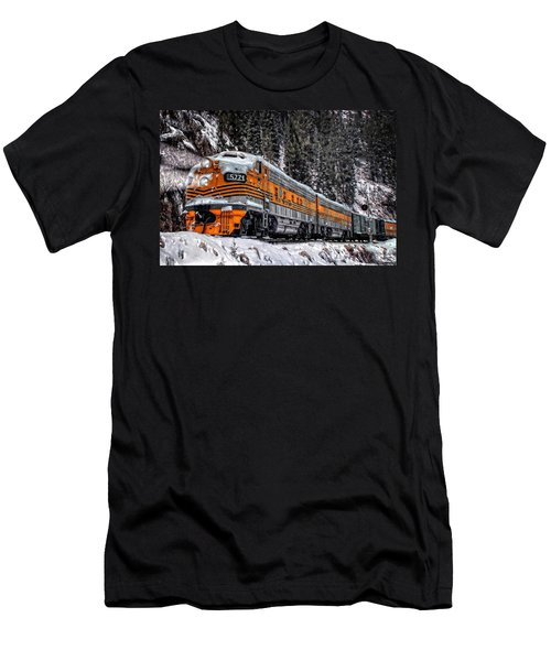 California Zephyr Men's T-Shirt (Slim Fit) by Ken Smith