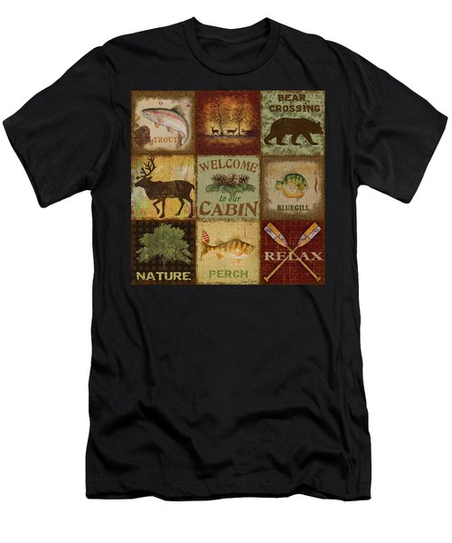 Call Of The Wilderness Men's T-Shirt (Athletic Fit)