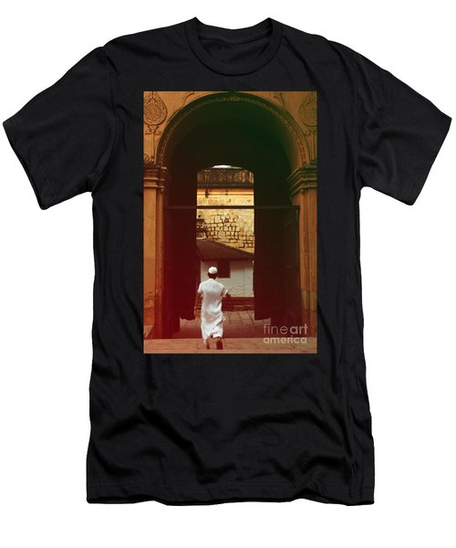 Men's T-Shirt (Slim Fit) featuring the photograph Call To Prayer by Mini Arora
