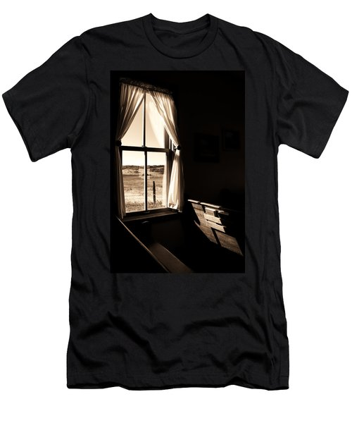 Men's T-Shirt (Slim Fit) featuring the photograph Call To Worship by Jim Garrison