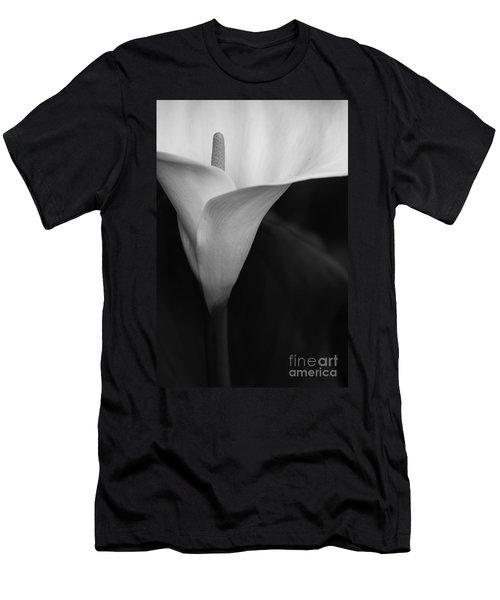 Calla Lily Corner Men's T-Shirt (Athletic Fit)