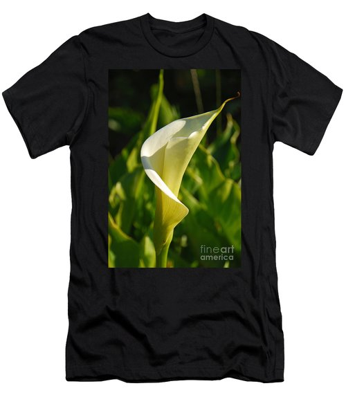 Calla Lily Men's T-Shirt (Slim Fit) by Mary Carol Story